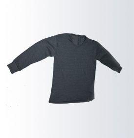 Ватирана тениска с дълъг ракав